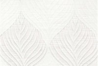 6432515 FOLIAGE SNOW Floral Damask Upholstery And Drapery Fabric