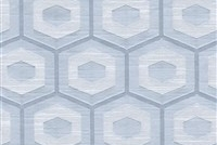 6432712 PROPOLIS SLATE Lattice Damask Upholstery And Drapery Fabric