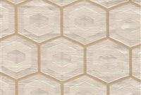 6432715 PROPOLIS PEARL Lattice Damask Upholstery And Drapery Fabric