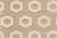 6432717 PROPOLIS LATTE Lattice Damask Upholstery And Drapery Fabric