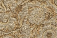 6433317 WESSEX OATMEAL Floral Jacquard Upholstery And Drapery Fabric