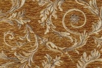 6433318 WESSEX HONEY Floral Jacquard Upholstery And Drapery Fabric