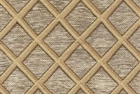 6433514 CORNWALL OATMEAL Lattice Jacquard Upholstery And Drapery Fabric