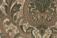 6433612 YORK ROYALTY Floral Jacquard Upholstery And Drapery Fabric