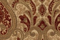 6433614 YORK TREASURE Floral Jacquard Upholstery And Drapery Fabric