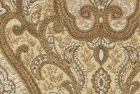 6433615 YORK OATMEAL Floral Jacquard Upholstery And Drapery Fabric