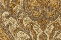 6433616 YORK HONEY Floral Jacquard Upholstery And Drapery Fabric