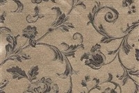 6434214 ASHFORD BRONZE Floral Damask Upholstery And Drapery Fabric