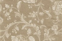 6434217 ASHFORD SAND Floral Damask Upholstery And Drapery Fabric