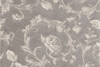 6434221 ASHFORD PLATINUM Floral Damask Upholstery And Drapery Fabric