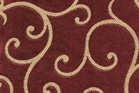 6434314 ARUNDEL WINE Floral Damask Upholstery And Drapery Fabric