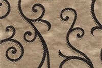 6434316 ARUNDEL BRONZE Floral Damask Upholstery And Drapery Fabric