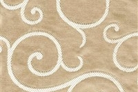 6434318 ARUNDEL SAND Floral Damask Upholstery And Drapery Fabric