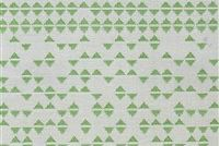 6436111 TRIFECTA WHITE GREEN Geometric Indoor Outdoor Upholstery And Drapery Fabric