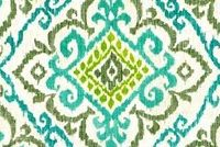 Covington CHEVELLE 29 SEAFOAM Ikat Linen Blend Upholstery And Drapery Fabric