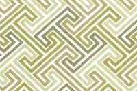 Covington ELTON 25 OLIVE Lattice Print Upholstery And Drapery Fabric