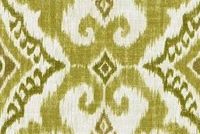 Covington KANTHA 25 OLIVE Ikat Linen Blend Upholstery And Drapery Fabric