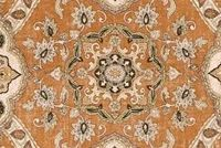 Covington MESSINA 316 TERRACOTTA Floral Linen Blend Upholstery And Drapery Fabric