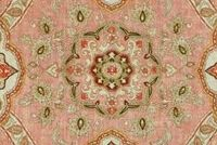 Covington MESSINA 704 DUSTY ROSE Floral Linen Blend Upholstery And Drapery Fabric