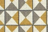 Covington PYRAMIDS 81 GOLDEN Contemporary Print Upholstery And Drapery Fabric