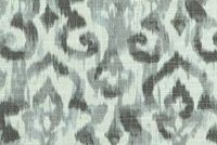 Covington SARIYA 9 GRAPHITE Ikat Linen Blend Upholstery And Drapery Fabric