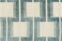 6446013 POWERS SEAGLASS Lattice Velvet Upholstery Fabric