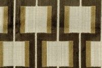 6446014 POWERS SABLE Lattice Velvet Upholstery Fabric