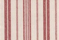 6449311 LENS 15 55IN MADRID RED Stripe Jacquard Upholstery Fabric
