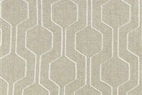 Richloom CLIMBER BISQUE Lattice Embroidered Drapery Fabric
