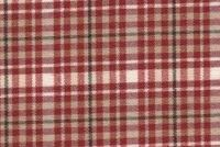 6452711 FAVOLA 15 55IN RED Plaid Upholstery And Drapery Fabric