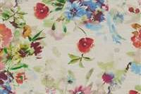 P/K Lifestyles ARTIST'S VIEW GARDEN 409280 Floral Print Upholstery And Drapery Fabric