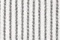 6457513 MADISON BLACK Ticking Stripe Print Upholstery And Drapery Fabric