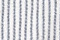 6457517 MADISON PREMIER NAVY Ticking Stripe Print Upholstery And Drapery Fabric