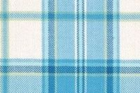 Covington SOMERSET 512 CAPRI BLUE Plaid Upholstery And Drapery Fabric