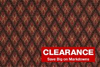 6517112 HIGHLAND RED Jacquard Fabric