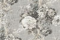 Waverly BALLAD BOUQUET PLATINUM 680160 Floral Print Fabric