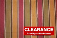 6624811 MONTROSE CHOCOLATE Stripe Print Upholstery And Drapery Fabric