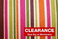 6625011 REGATTA RETRO Stripe Upholstery Fabric