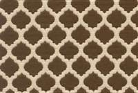 6664011 R-BETH COFFEE Lattice Jacquard Fabric