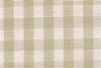 6680118 CHESTER SAGEGRASS/ANTIQUE WHITE Check Upholstery And Drapery Fabric