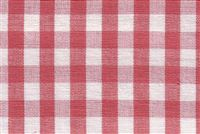 6680125 CHESTER STRAWBERRY/ANTIQUE WHITE Check Fabric