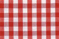 6680126 CHESTER BERRY/WHITE Check Upholstery And Drapery Fabric