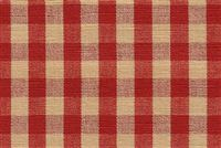 6680128 CHESTER CLARET/WHEAT Check Upholstery And Drapery Fabric