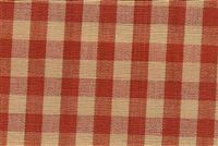 6680129 CHESTER SIENNA/WHEAT/CLARET Check Upholstery And Drapery Fabric