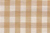 6680131 CHESTER WHEAT/ANTIQUE WHITE Check Upholstery And Drapery Fabric