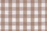 Roth & Tompkins CHESTER LINEN/WHITE Check / Plaid Fabric