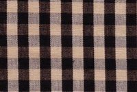 6680135 CHESTER BLACK/NATURAL Check Upholstery And Drapery Fabric