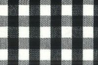 6680136 CHESTER BLACK/WHITE Check Fabric