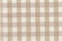 6680138 CHESTER KHAKI/ANTIQUE WHITE Check Upholstery And Drapery Fabric