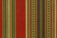 Roth & Tompkins NAVAJO 9IN D2233 BARN RED Stripe Jacquard Fabric